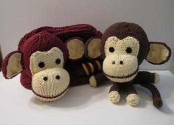 Free Knitting Patterns Toy Monkey : FREE KNITTING PATTERN SOCK MONKEY TOY   KNITTING PATTERN
